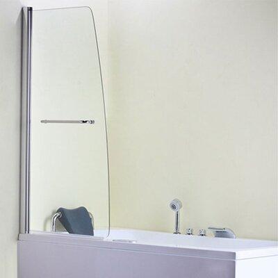 Blue Bear Direct AquaSpa Deluxe 140cm x 80cm Hinged Bath Screen