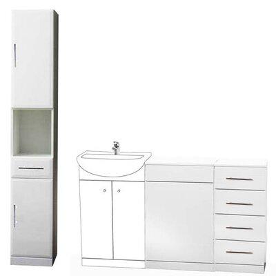 Blue Bear Direct Salcombe 80 x 50cm Free Standing Cabinet