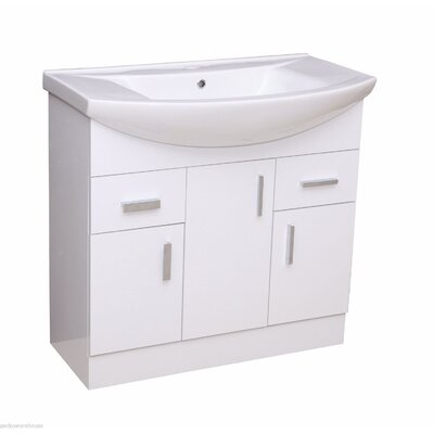Blue Bear Direct Salcombe Single Unit and Basin Vanity Set
