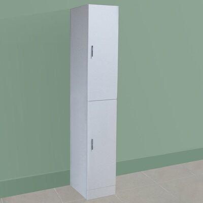 Blue Bear Direct Salcombe 35 x 192cm Free Standing Tall Bathroom Cabinet