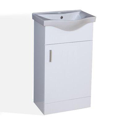 Blue Bear Direct Salcombe 41cm Single Unit and Basin Vanity Set