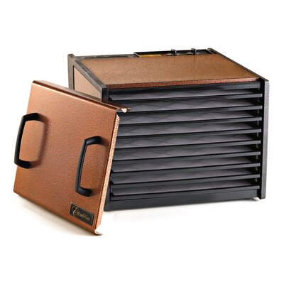9 Tray Dehydrator with Timer Color: Copper