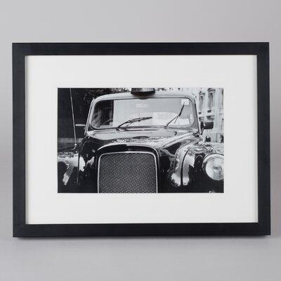 Amaris Elements Gerahmtes Foto Winchester Taxi - 30 x 40 cm