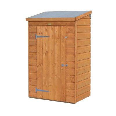 3 ft. 1 in. W x 2 ft. 1 in. D Wooden Vertical Tool Shed