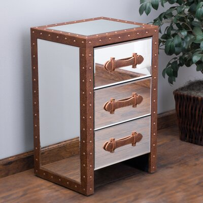 Eve 3 Drawer Accent Cabinet