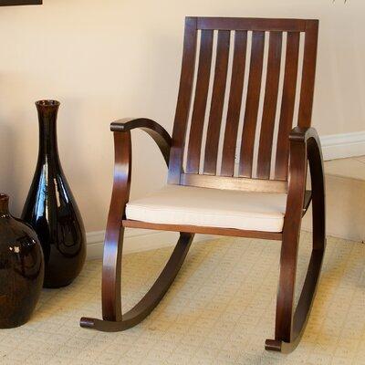 Abraham Rocking Chair with Cushion