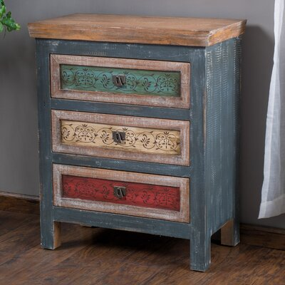 Everest 3 Drawer Chest