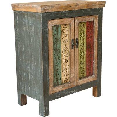 Chellis 2 Door Accent Cabinet Color: Antique Dark Green