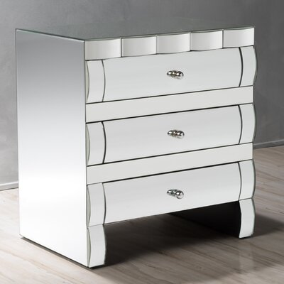 Memphis 3 Drawer Accent Chest