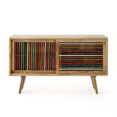 Deshaun Accent Cabinet Color: Natural