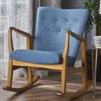 Saulter Fabric Rocking Chair