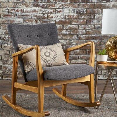 Welke Rocking Chair Fabric: Gray