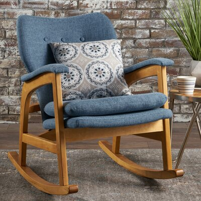 Welton Rocking Chair Fabric: Muted Blue