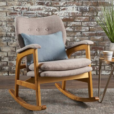 Welton Rocking Chair Fabric: Wheat
