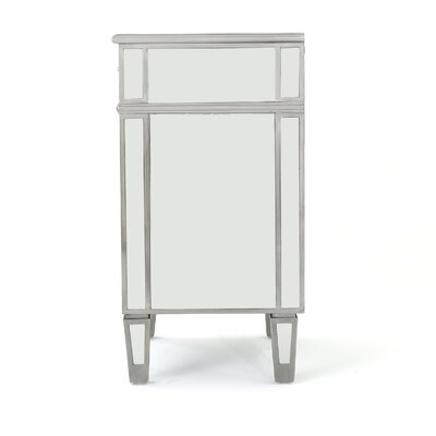 Terrace Mirrored 2 Drawer Cabinet