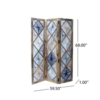 Doug 3 Panel Room Divider
