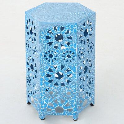 Crepeau End Table Color Blue Techourlife Com