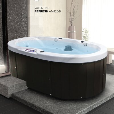 Valentine 2-Person 20-Jet Plug and Play Spa withBluetooth Stereo System