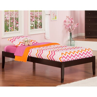 Mackenzie Extra Long Twin Platform Bed Color: Espresso