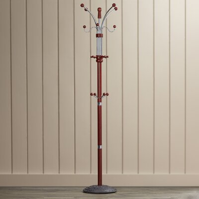 Vertical Freestanding Coat Rack Finish: Cherry