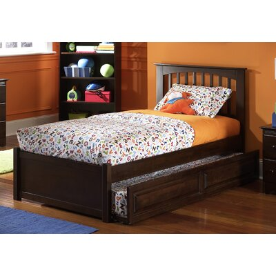 Arkwright Platform Bed Size: Twin, Color: Natural Maple