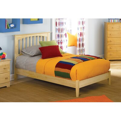 Arkwright Maple Platform Bed Size: Twin