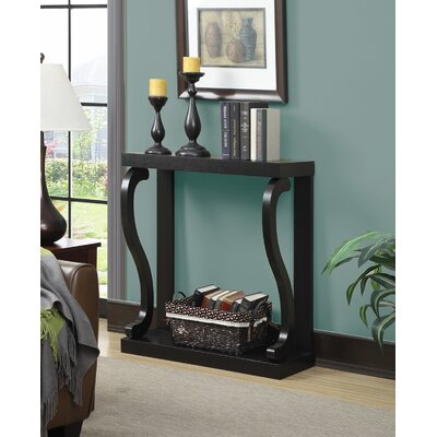Gallego Melton Console Table Color: Espresso
