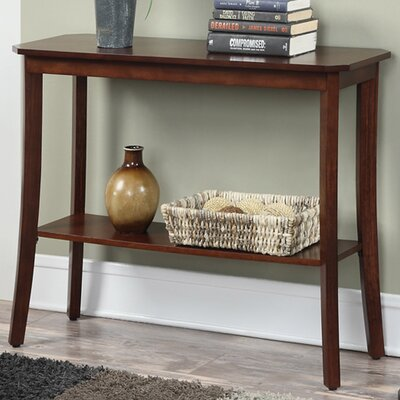 Lockheart Console Table Color: Mahogany