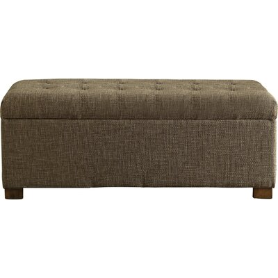 Ravenwood Upholstered Storage Bench Color: Burlap