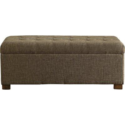 Ravenwood Upholstered Storage Bench Color: Burlap
