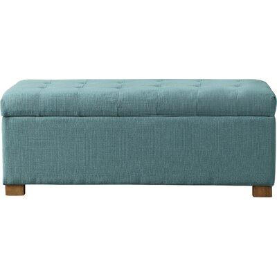 Ravenwood Upholstered Storage Bench Color: Laguna