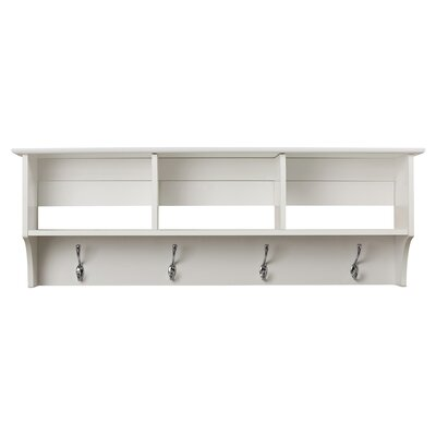 Hayman Entryway Shelf Color: White