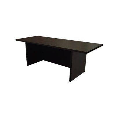 """Mann 12"""" H x 36"""" W Standing Desk Conversion Unit Finish: Dark Red Cocoa"""