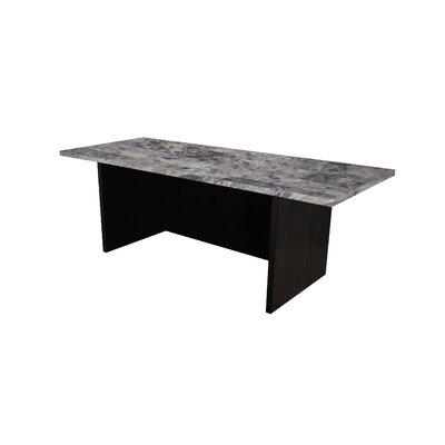 """Mann 12"""" H x 36"""" W Standing Desk Conversion Unit Finish: Faux Marble"""