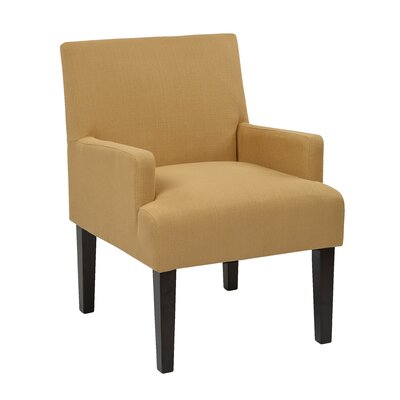 Guest Arm Chair Upholstery: Woven Wheat