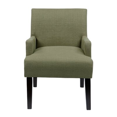 Guest Arm Chair Upholstery: Woven Seaweed