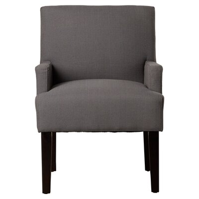 Guest Arm Chair Upholstery: Woven Charcoal