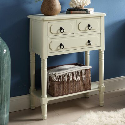 Carleton 3 Drawer Chest Color: Buttermilk