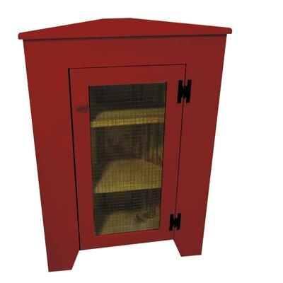 Besser Corner Display Stand Color: Red