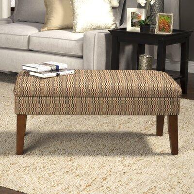 Birkett Decorative One Seat Bench with Storage