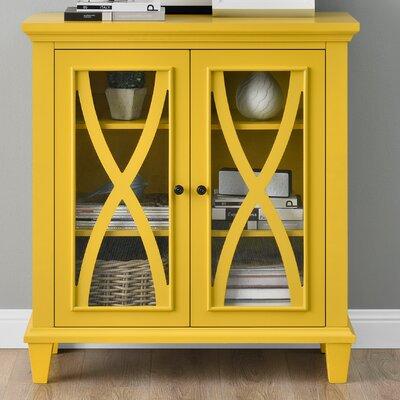 Rosendale 2 Door Accent Cabinet Color: Yellow