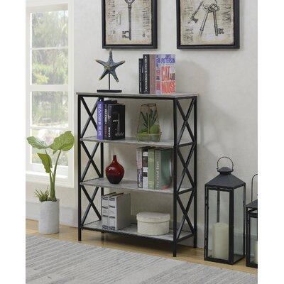 Abbottsmoor Etagere Bookcase Color: Faux Birch