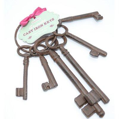 IC Innovations Decorative Cast Iron Key