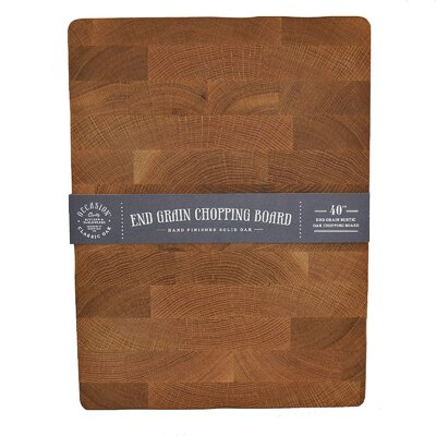 IC Innovations Occasion 40cm Classic Oak Chopping Board
