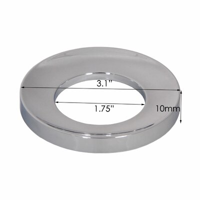 ABS Mounting Ring Finish: Chrome