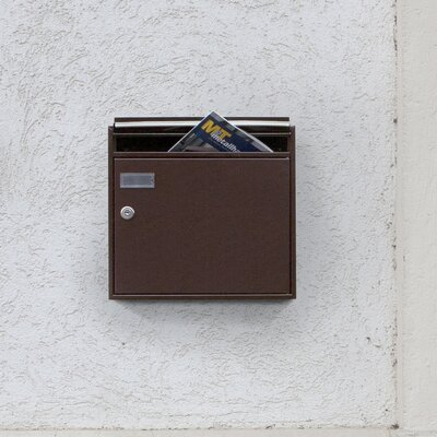 Max Knobloch Nachf. GmbH Einzel-Briefkasten Memphis mit Einwurfklappe in 15 cm T