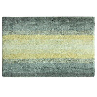 Portico Bath Rug Color: Yellow