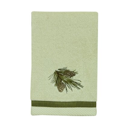 Pine Cone Terry Cloth Fingertip Towel