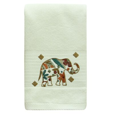 Cece Elephant 100% Cotton Hand Towel
