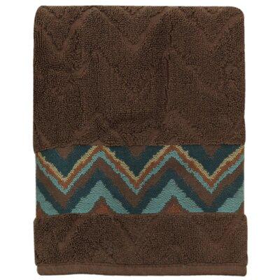 Charee Zigzag 100% Cotton Hand Towel